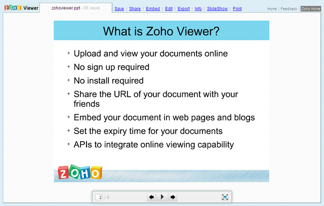Presentation Viewer