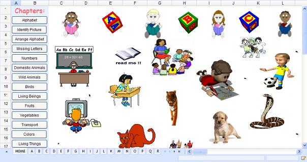 Spreadsheets for Kids « Zoho Blog