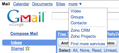 Zoho Launches Business Apps on Google Apps Marketplace