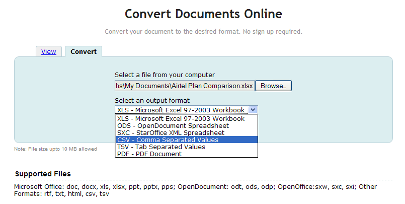New in Zoho Viewer: Online Document Converter, New PDF
