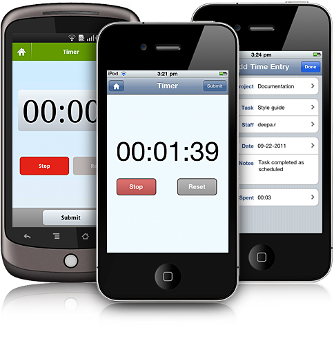 time tracking on the go zoho blog