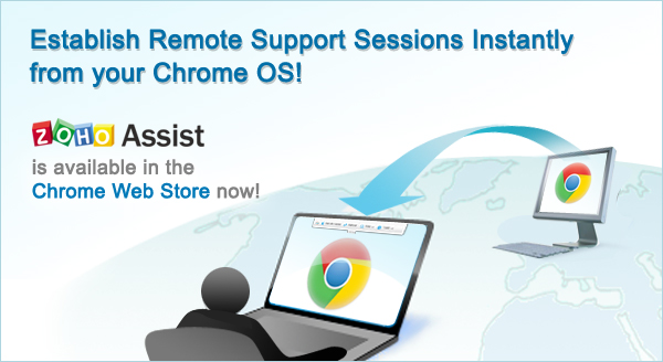 Offer Remote Support from your Chromebook « Zoho Blog
