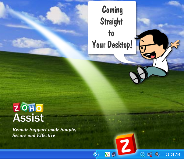 New Desktop Plugin for Zoho Assist!