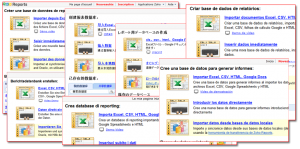 language-reports