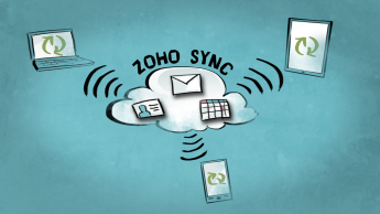 Announcing Zoho Sync: Push Mail And Mobile Sync Service