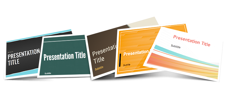 New themes for your presentations