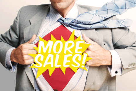 Sales Superhero