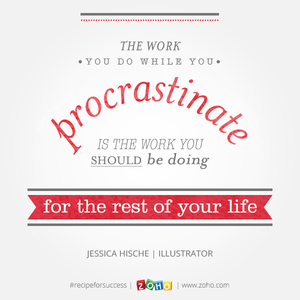 Procrastinate Quote