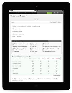 Zoho Survey for iPad