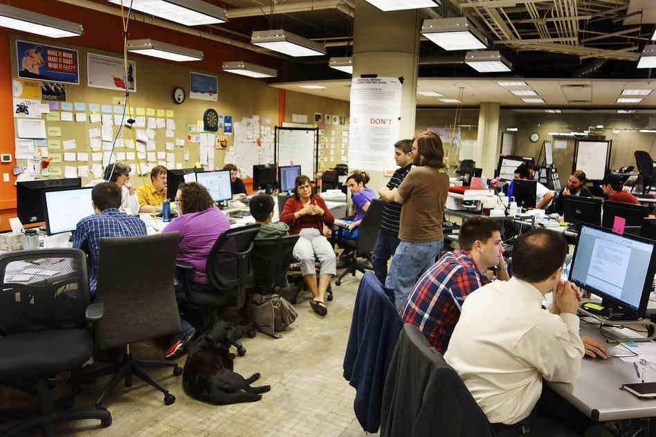 Menlo Innovation headquarters in Ann Arbor, Mich. Photo by Elise Hu/NPR