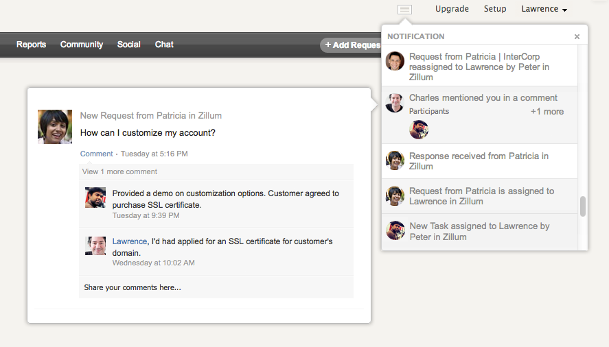 notification-center-zoho-support