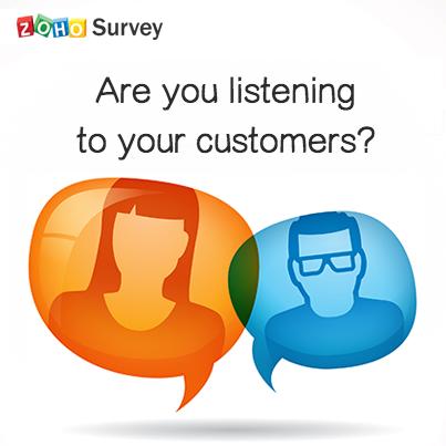 Zoho survey-listen