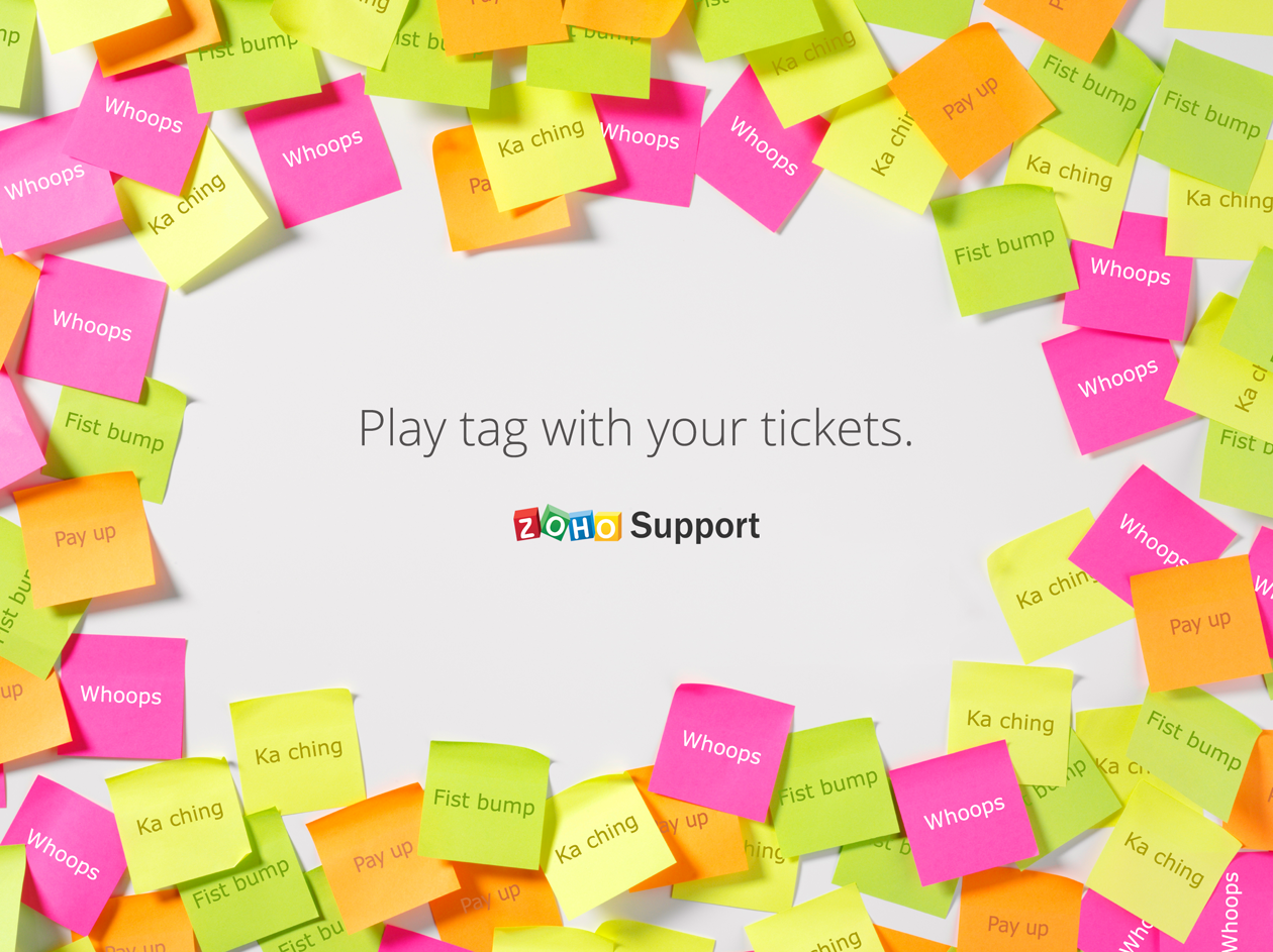 Play tag with your tickets