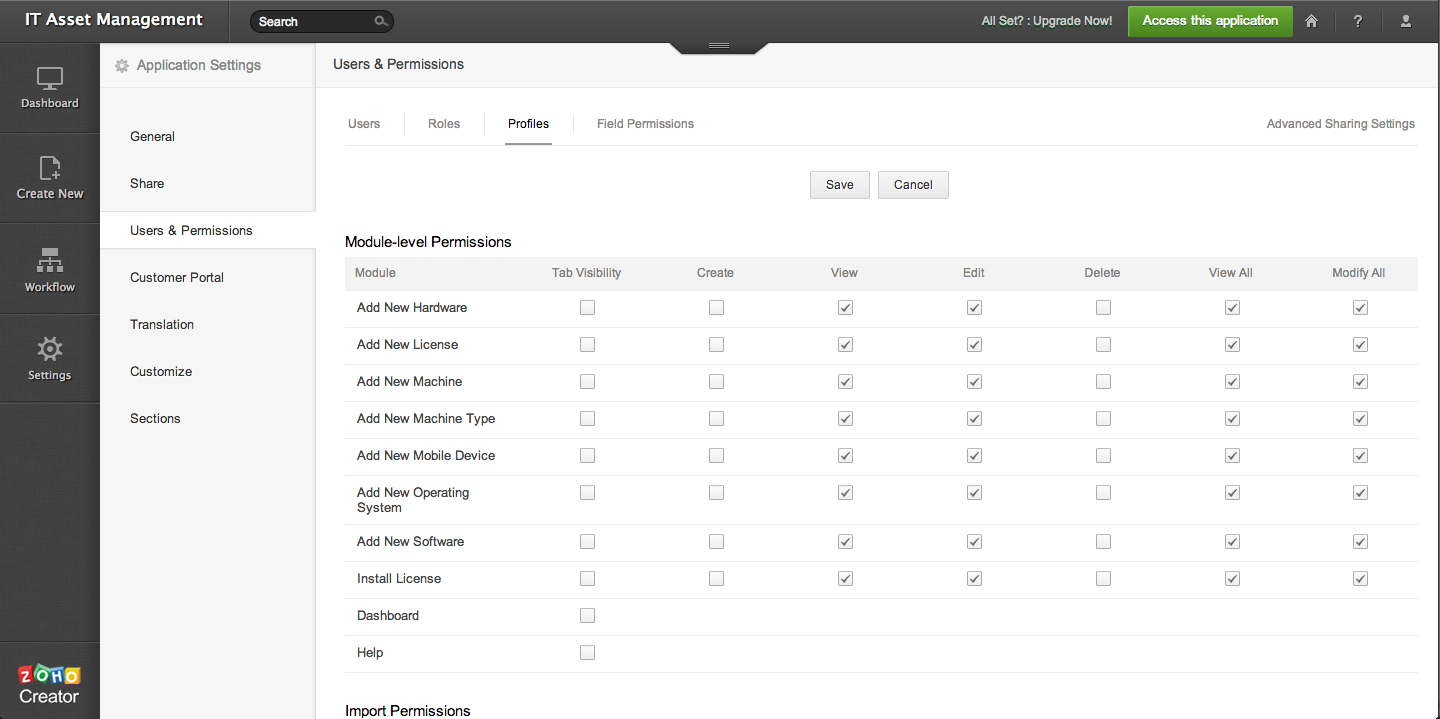 New Addition: Record Level Security & Permission « Zoho Blog
