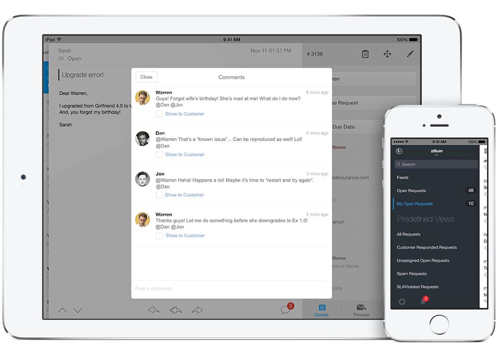 7 benefits mobile customer service apps unleash « Zoho Blog