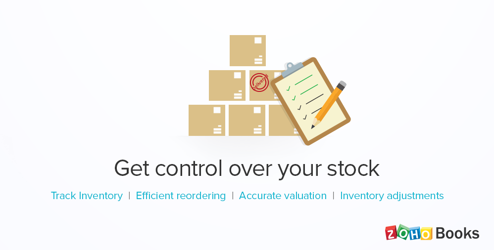 Introducing Inventory in Zoho Books: Stock Management made