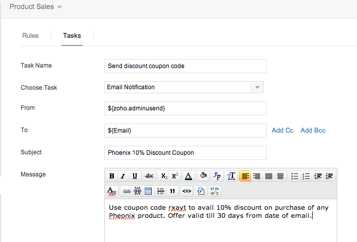 how to build an email collector form