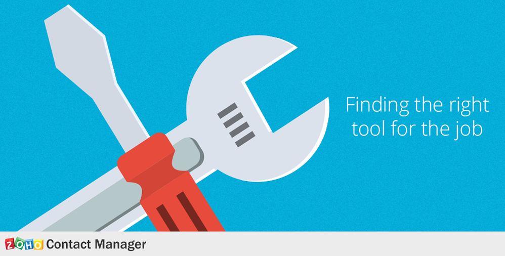 ContactManager_Finding the right tool