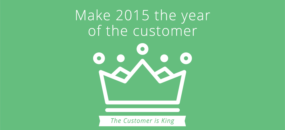 2015: ​The year of the customer
