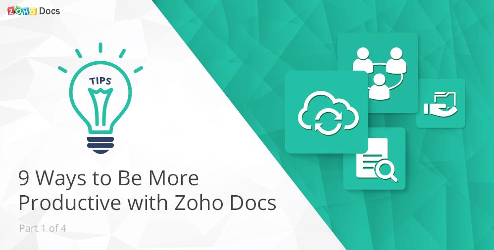 productivity-tips-from-zoho-docs