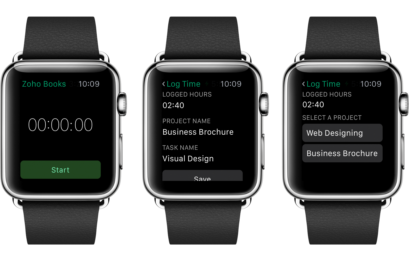 zoho-books-apple-watch-screens