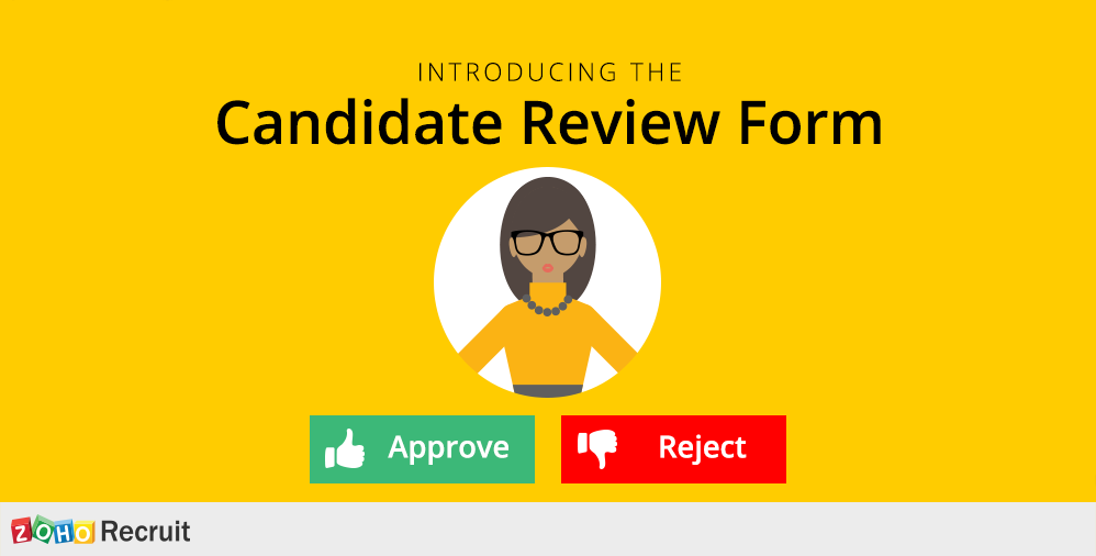 Candidate Review Form for Zoho Recruit