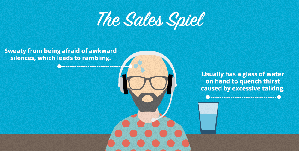 The Sales Spiel