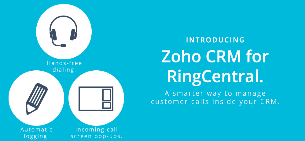 Introducing Zoho CRM for RingCentral – a smarter way to manage calls inside your CRM
