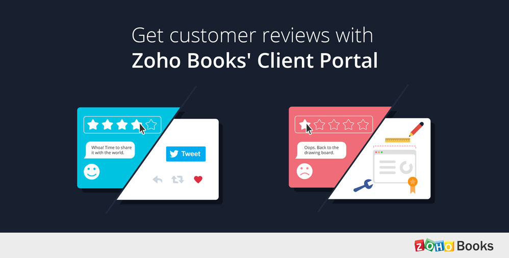 Customer feedback at fingertips with the Client Portal.
