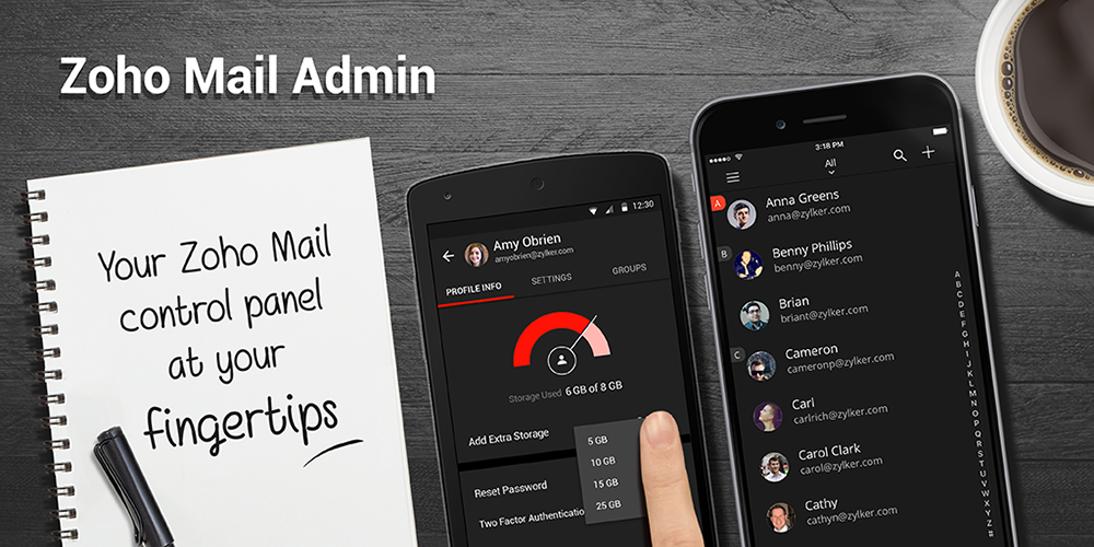 Introducing the Zoho Mail Admin app: One App To Rule Them All