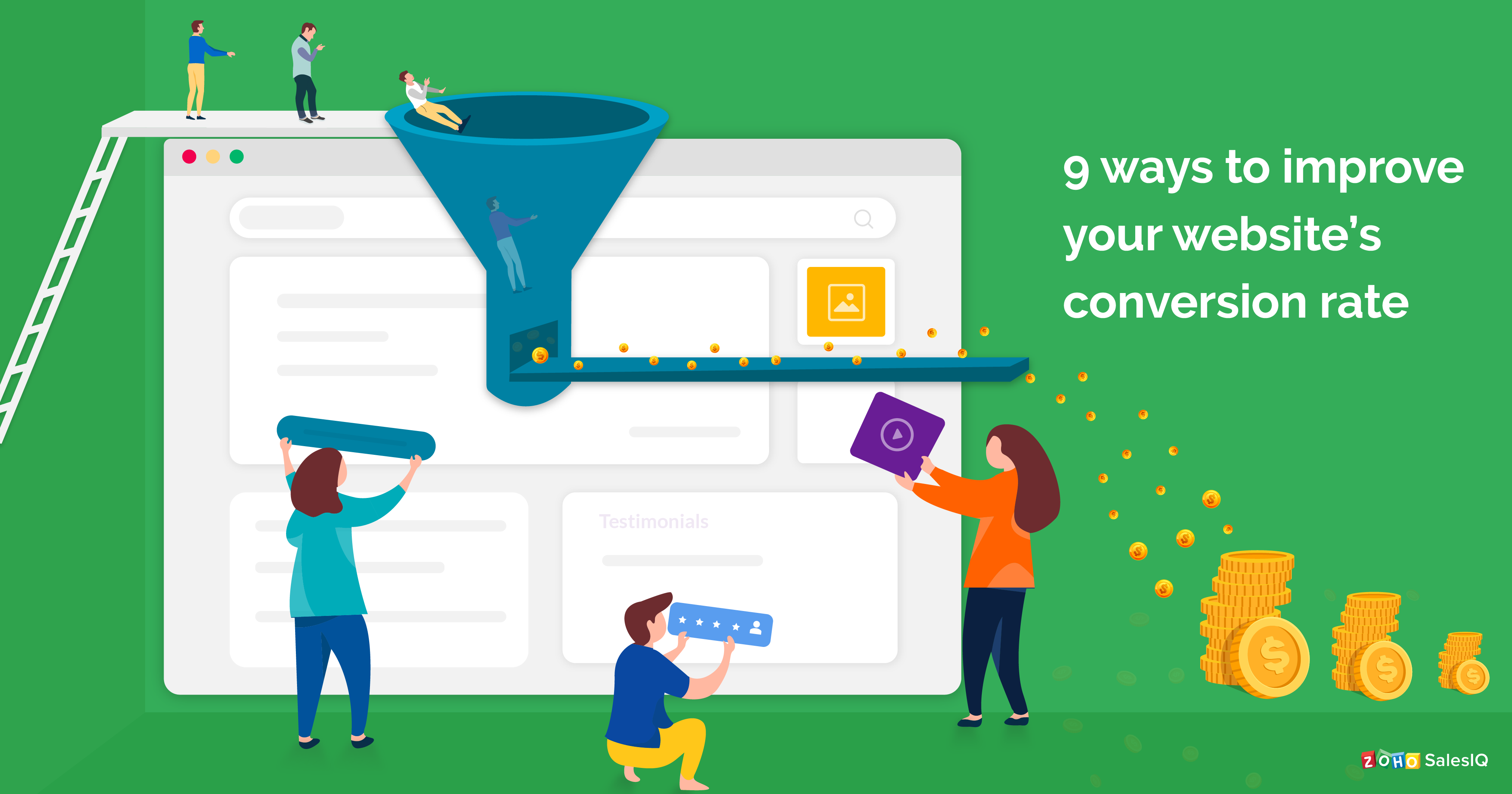 9 ways to increase your website conversion rate