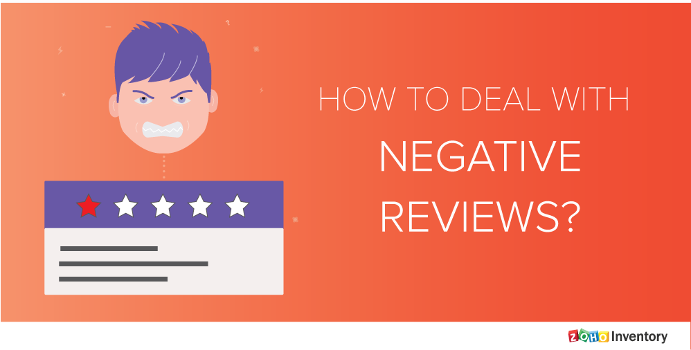 3 Tips for businesses to deal with negative reviews