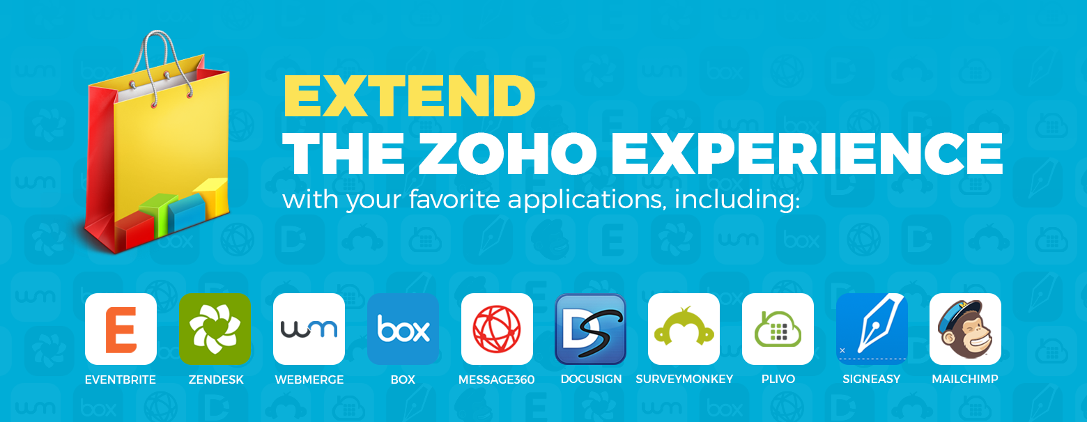 Extend your Zoho experience