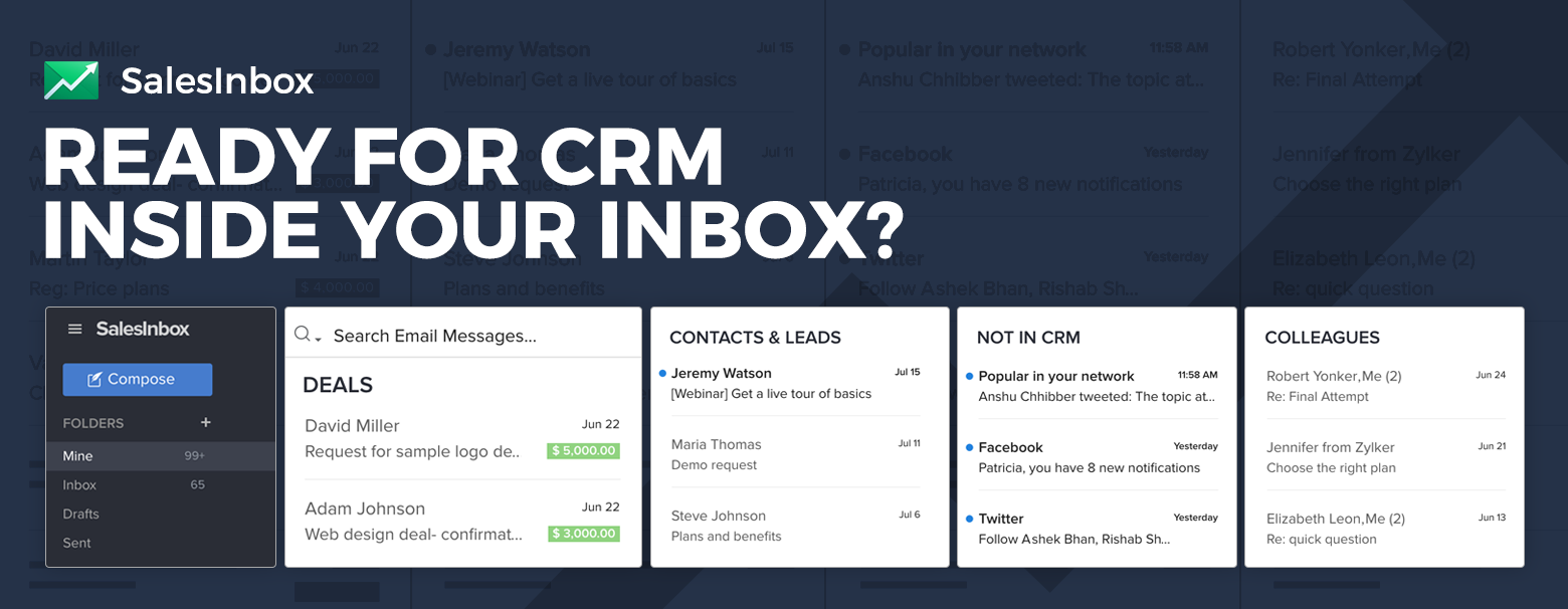 Turn unopened emails into closed deals with SalesInbox