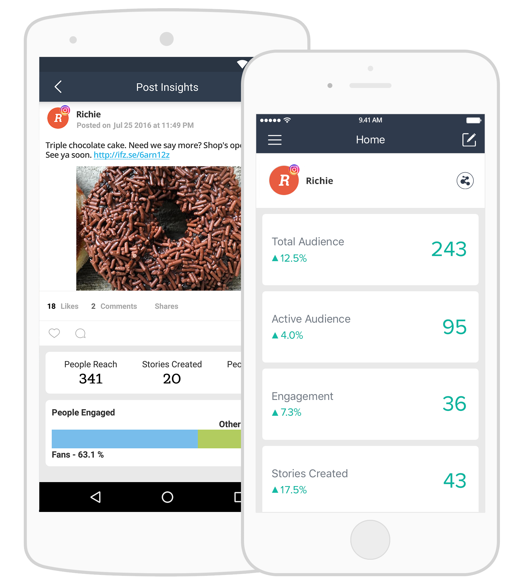 Manage your social media on the go!