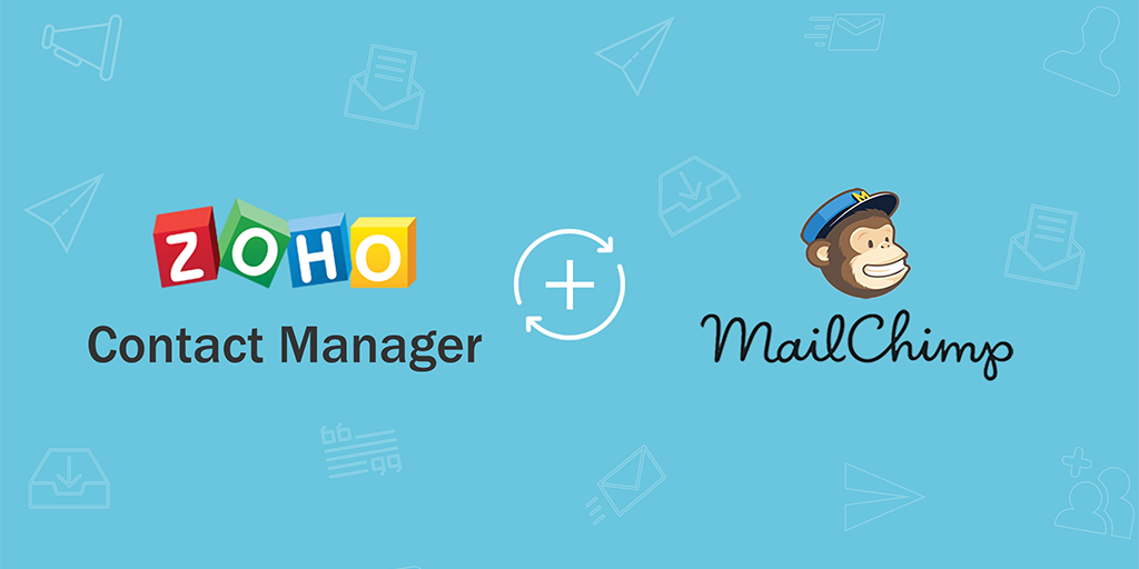 Zoho ContactManager joins hands with MailChimp to bring your business contacts and email campaigns together.