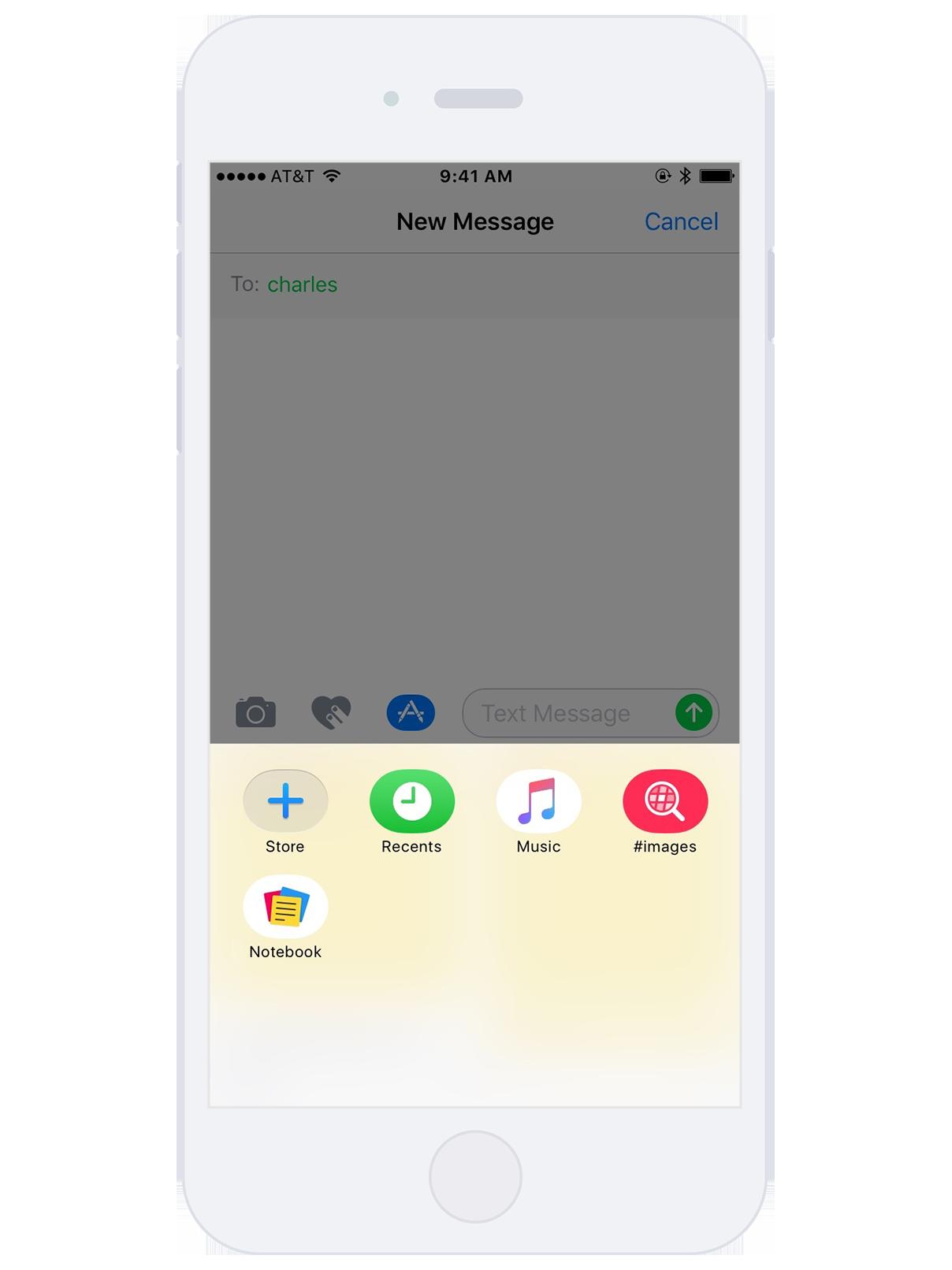 Notebook iMessage Integration