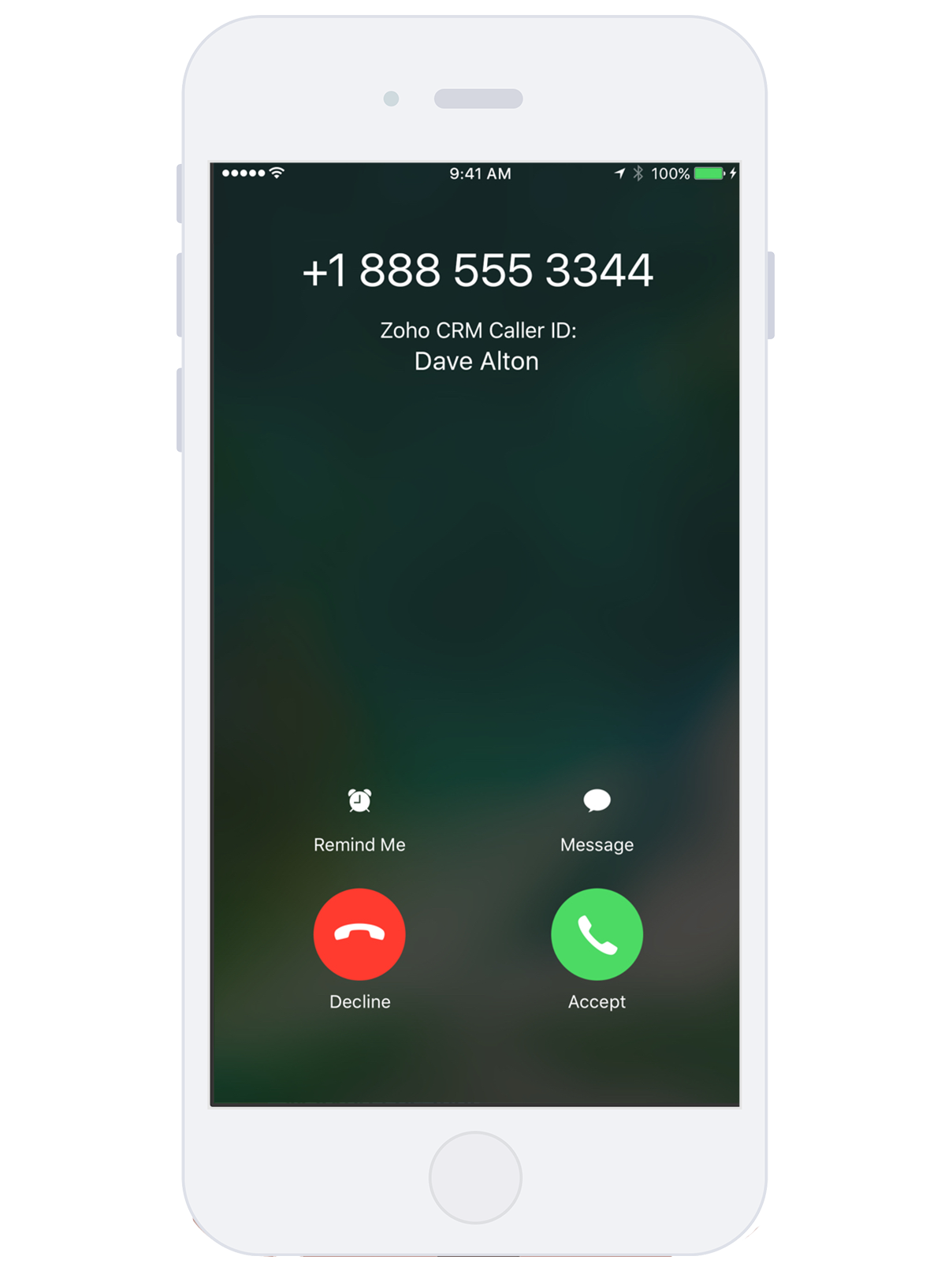 iphone caller id zoho brings contextual integration to mobile apps with ios 11676