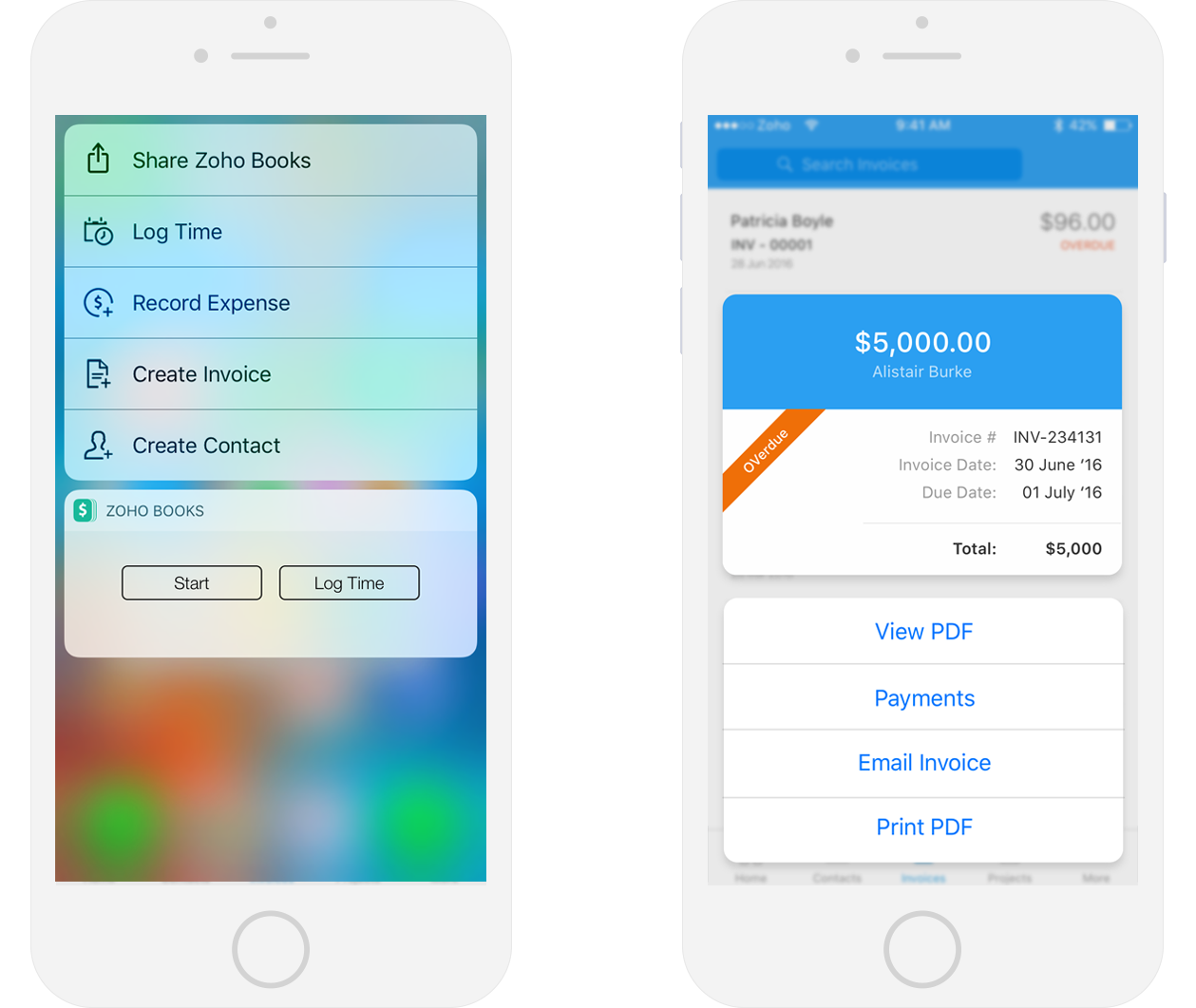 3D Touch - Finance apps