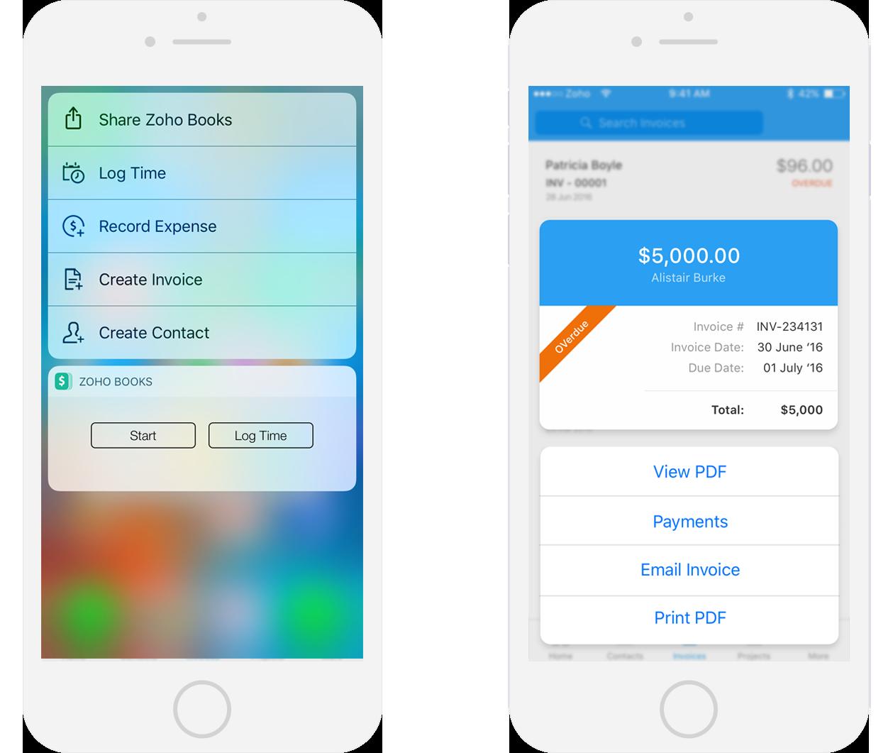 3D Touch - Finance apps
