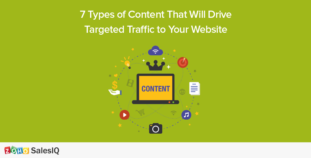 7 Types of Content That Will Drive Targeted Traffic to Your Website