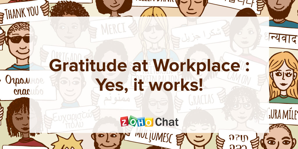 Gratitude at workplace: Yes, it works!