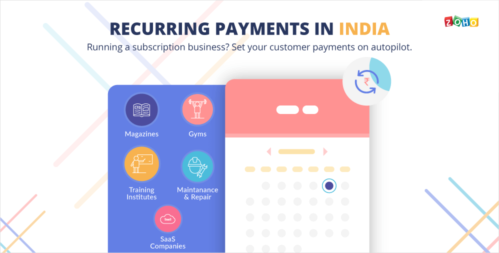 Start Accepting Recurring Payments in India