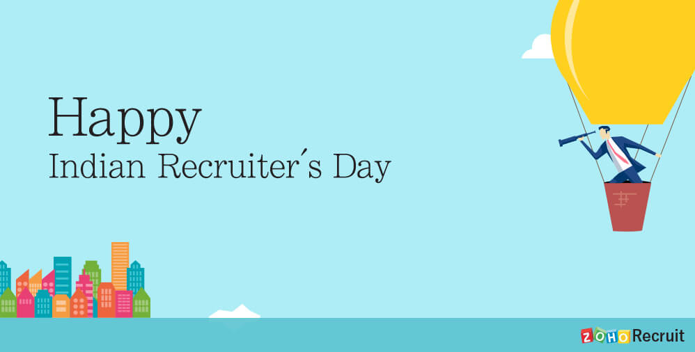 India is celebrating Recruiter's Day today, and we can't keep calm about it!