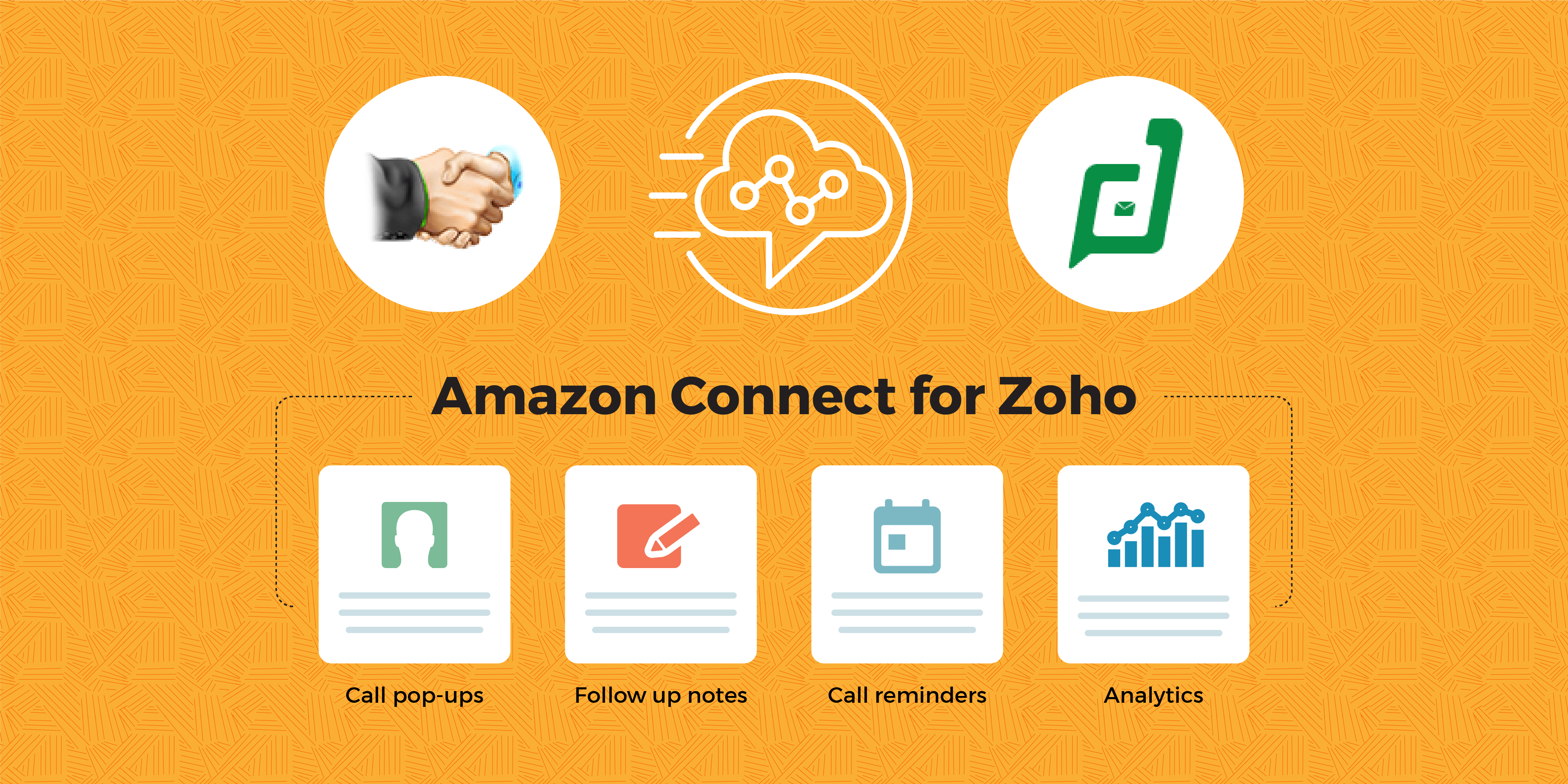What the Amazon Connect Release Means for Zoho CRM and Zoho Desk Customers   ​