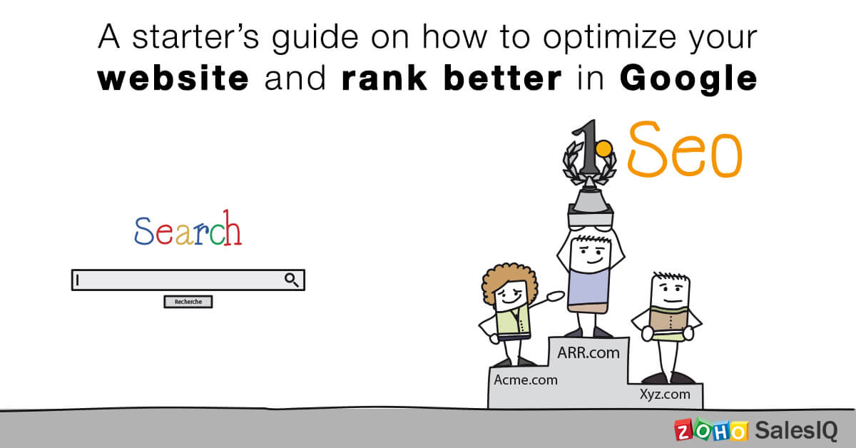 A Starter's Guide on how to Optimize your Website and Rank Better in Google ​