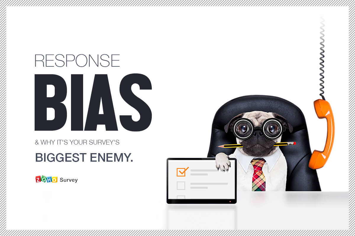 Response bias, and why it's your survey's biggest enemy