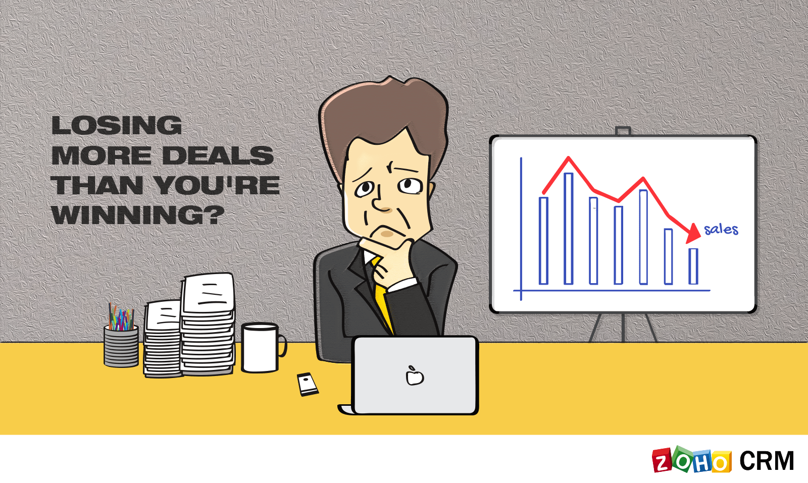 Losing More Deals Than You're Winning? The Problem Could Lie with Your Process, not Your People
