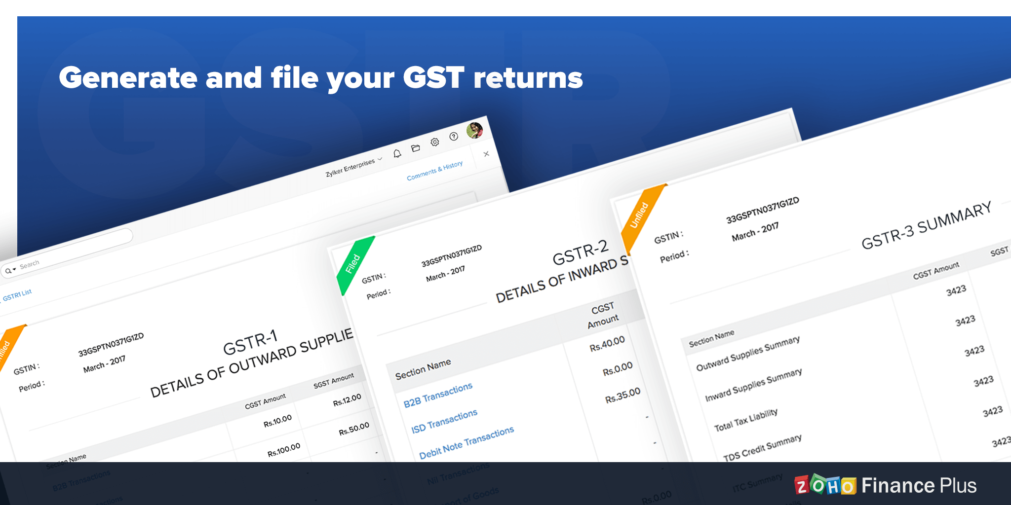 File GST returns with ease