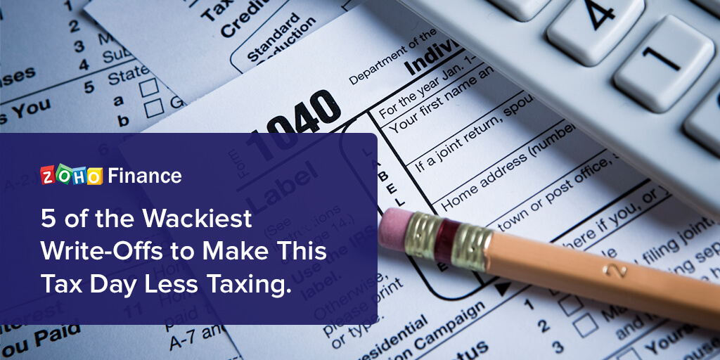 5 of the Wackiest Write-Offs to Make This Tax Day Less Taxing